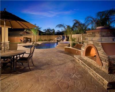 High Quality Ranch Style Backyard Escape Located In Arizona. Progressive Hardscapes  Phoenix, AZ