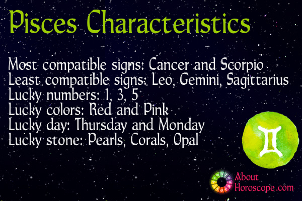 Pisces Traits, Personality and Characteristics Pisces