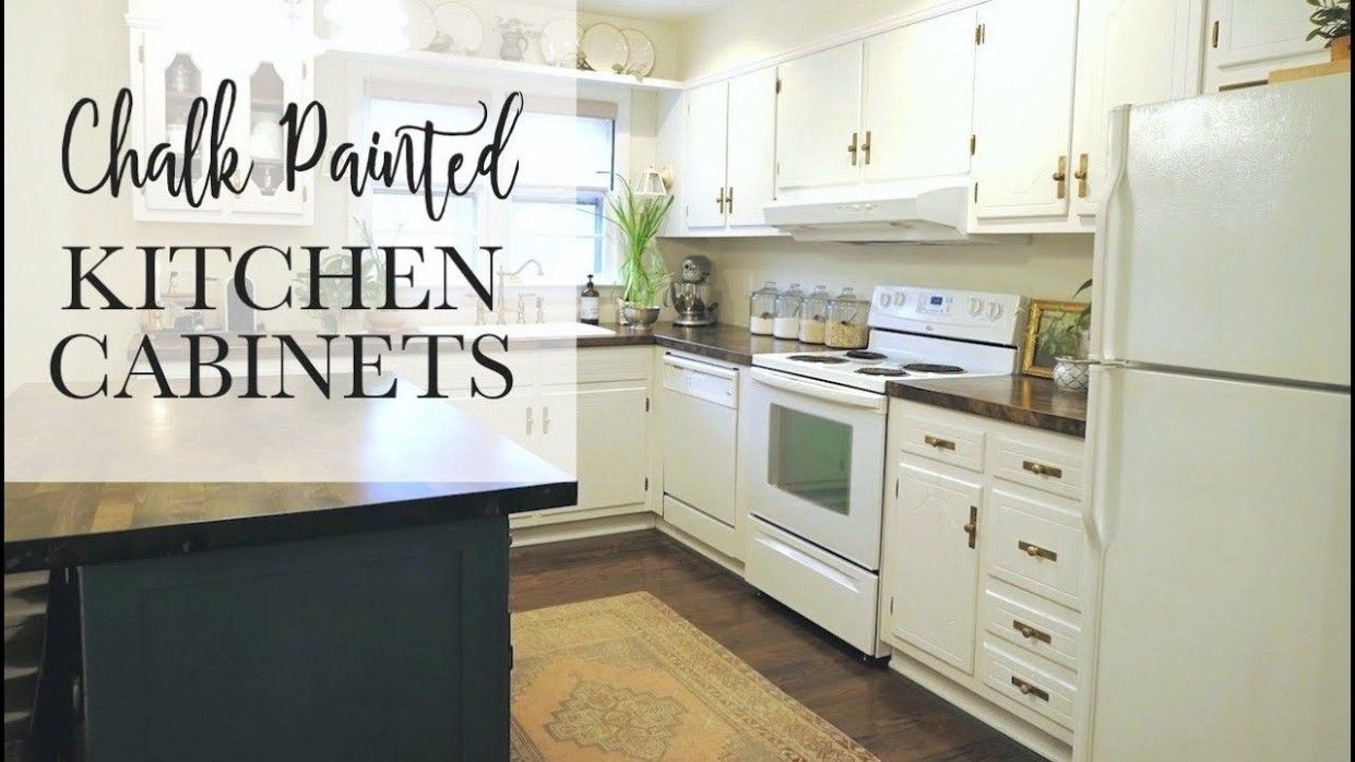 7 Elegant Youtube Painting Kitchen Cabinets Di 2020