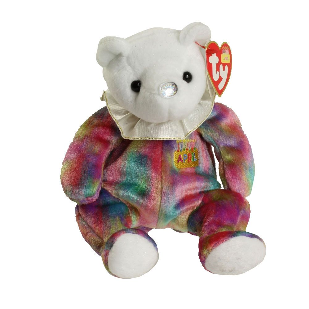 Check out the deal on TY Beanie Baby - APRIL the Birthday Bear (7.5 inch)  at BBToyStore.com - Toys 10bbc06a662