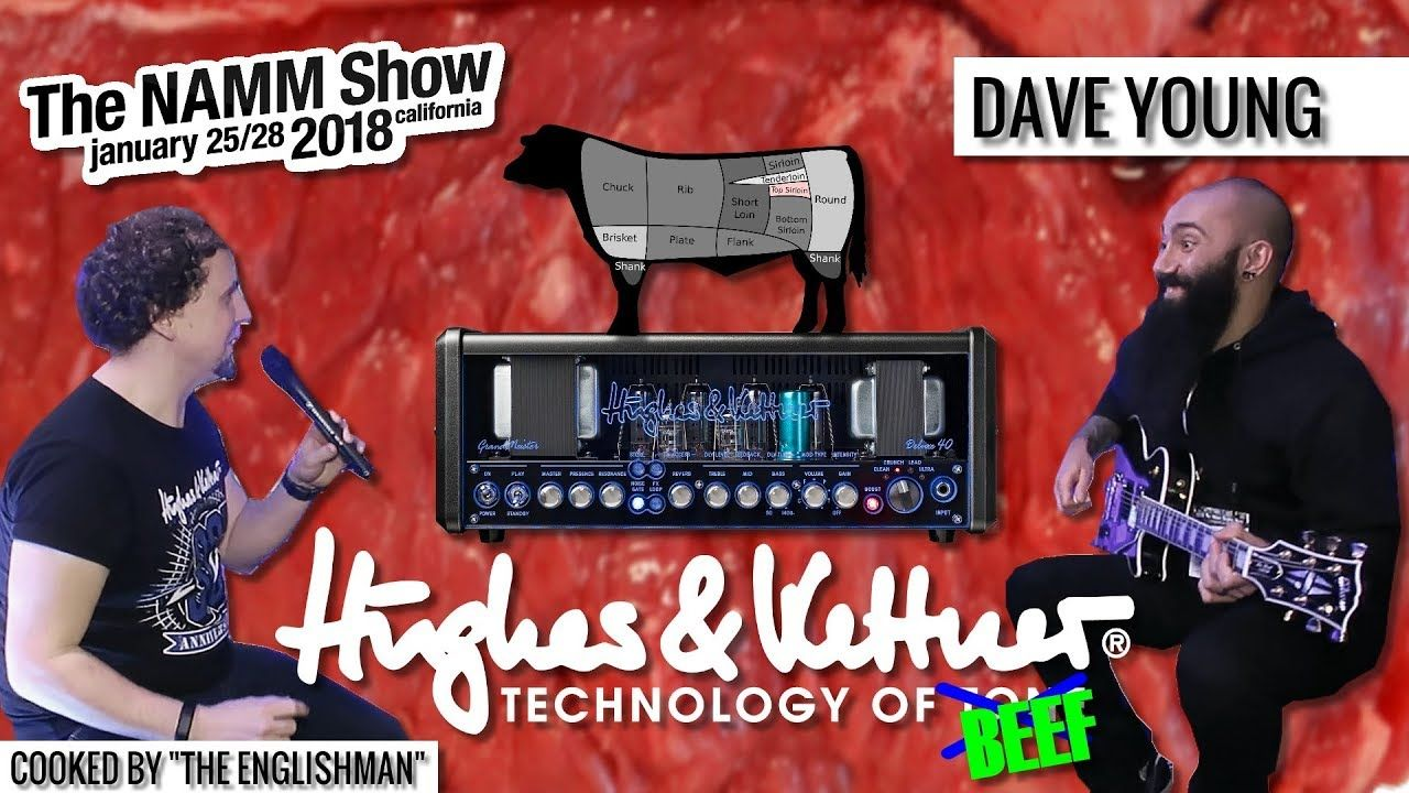 Longtime Devin Townsend Guitarist Dave Young Explains The Metal Preset He S Made For The Hughes Kettner Grandmeister Deluxe 40 Bee Young The Englishman Dave