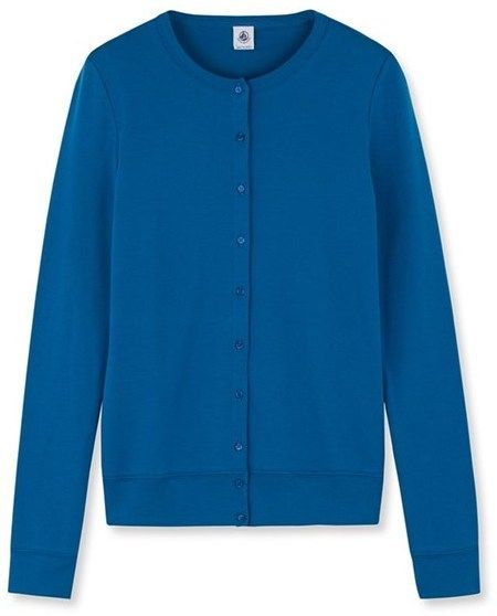 Womens iconic cotton cardigan