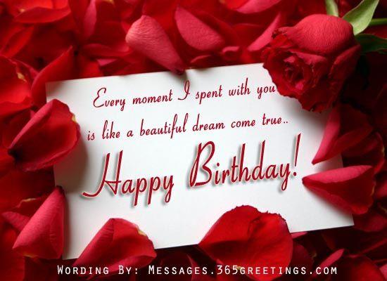 Birthday Wishes Christian Message ~ Romantic birthday wishes romantic birthday happy birthday and
