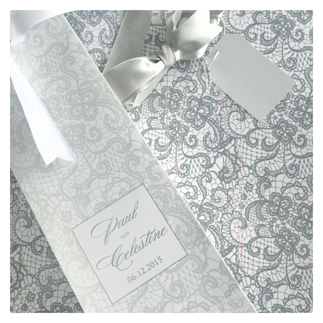 Custom Printed Boxes w/ Embossed Lace Effects || Personalized Home ...