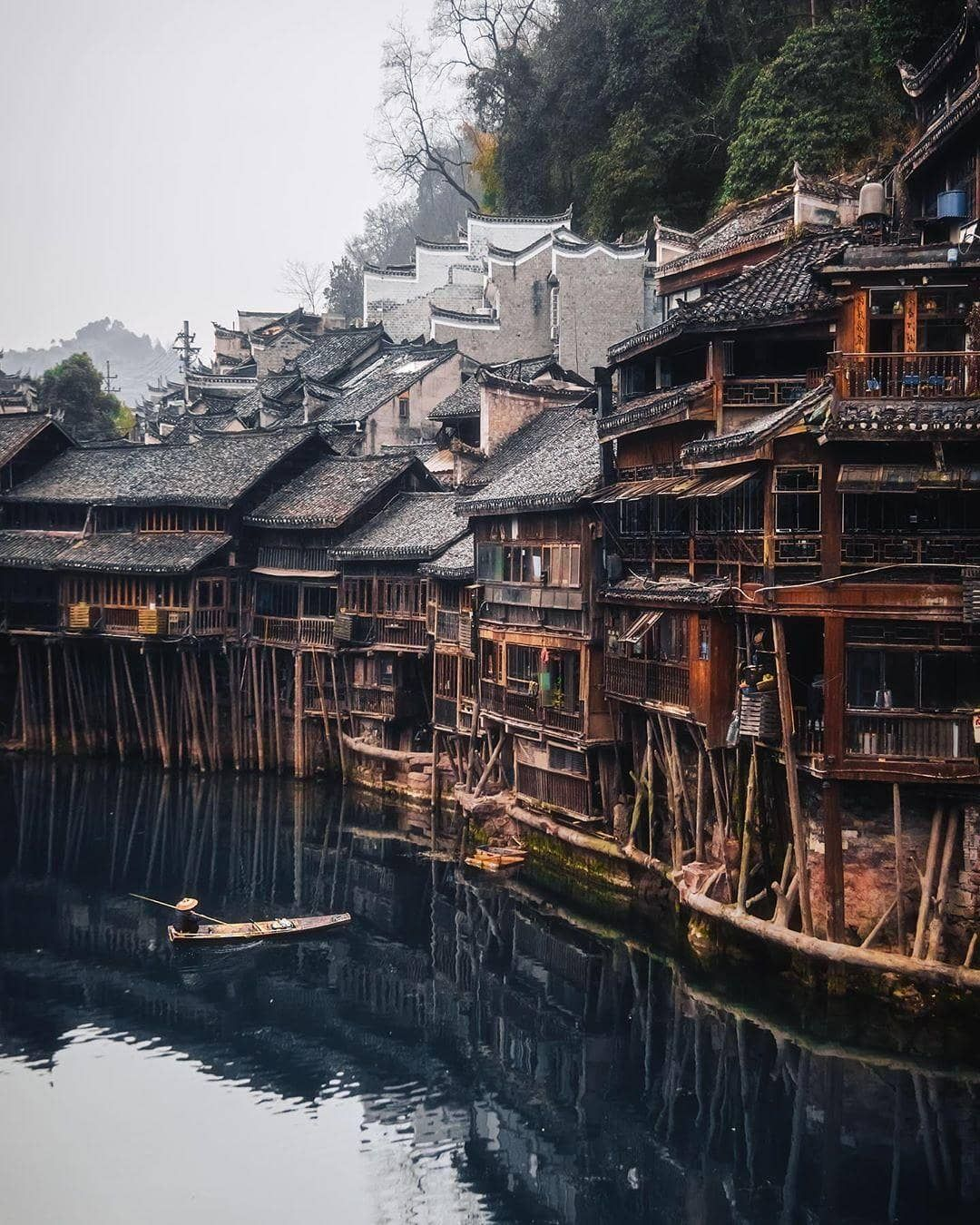 Beautiful Destinations On Instagram Fenghuang Ancient Town In China Shows What Villages Were Like Cool Places To Visit Best Places To Travel Places To Visit