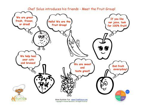 50 Incredible Fruit And Vegetable Coloring Book – Slavyanka | 371x480