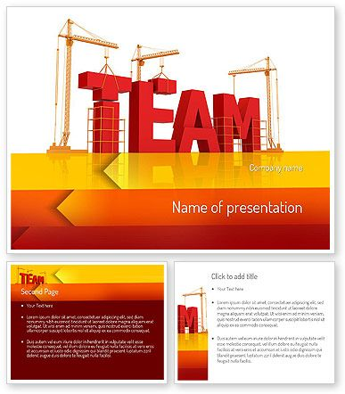 Team building under construction powerpoint template http for Team building powerpoint presentation templates