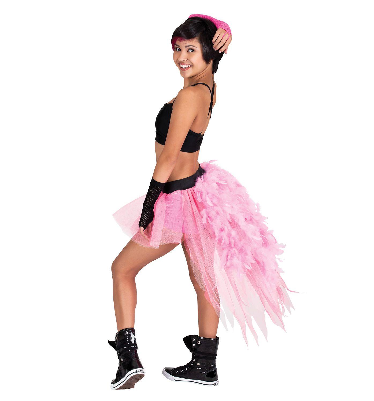 Pink Feather Tutu