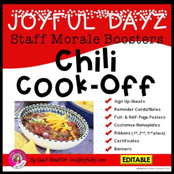 8927da40699 A great way to boost staff morale and keep things JOYFUL at the workplace!  This