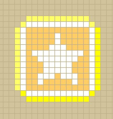 Kirby Star Block Perlerbead Pattern Designed By Me