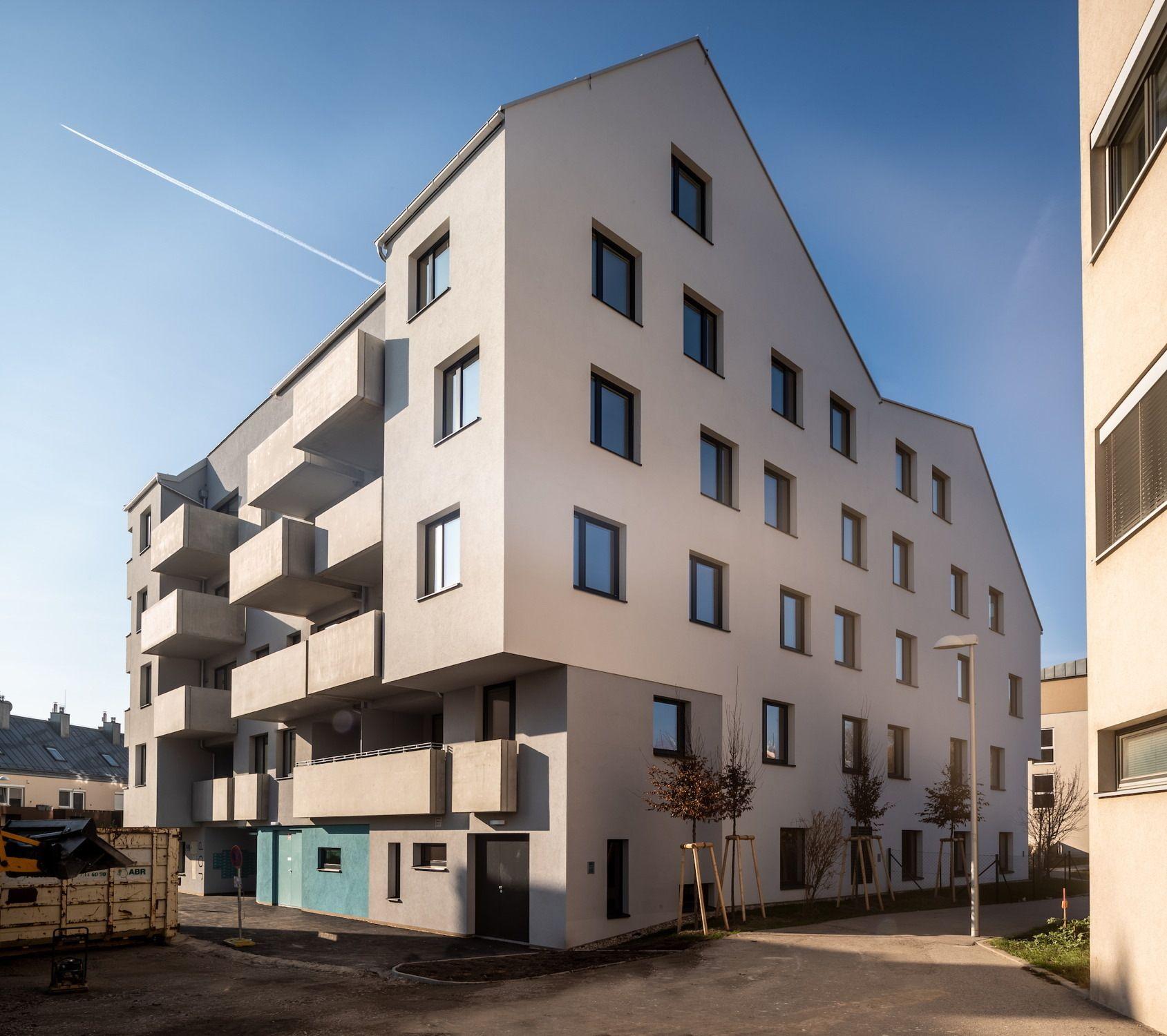 Hochskaliert in Wien – Sozialer Wohnungsbau von Gerner Gerner Plus