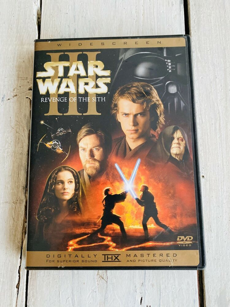 Details About Star Wars Episode Iii Revenge Of The Sith Dvd 2005 2 Disc Set Wide Screen In 2020 Star Wars Episodes Star Wars Revenge
