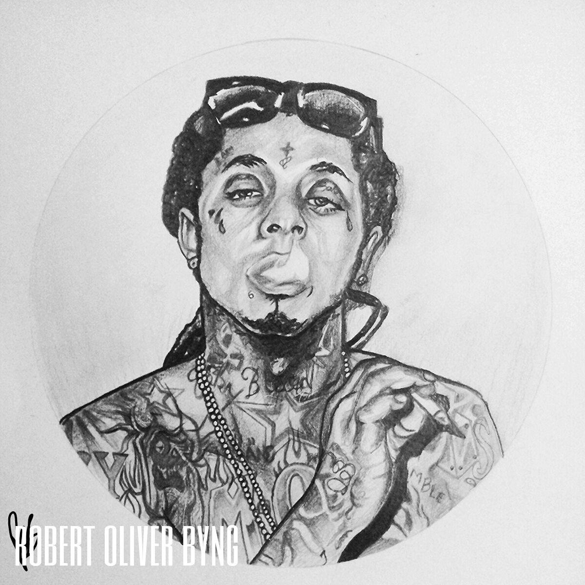 Lil' Wayne. | Portrait...