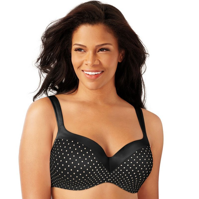 620446beef9bf Plus Size Playtex Secrets Bra  Body Revelation Jacquard Full-Figure  Balconette Bra 4823
