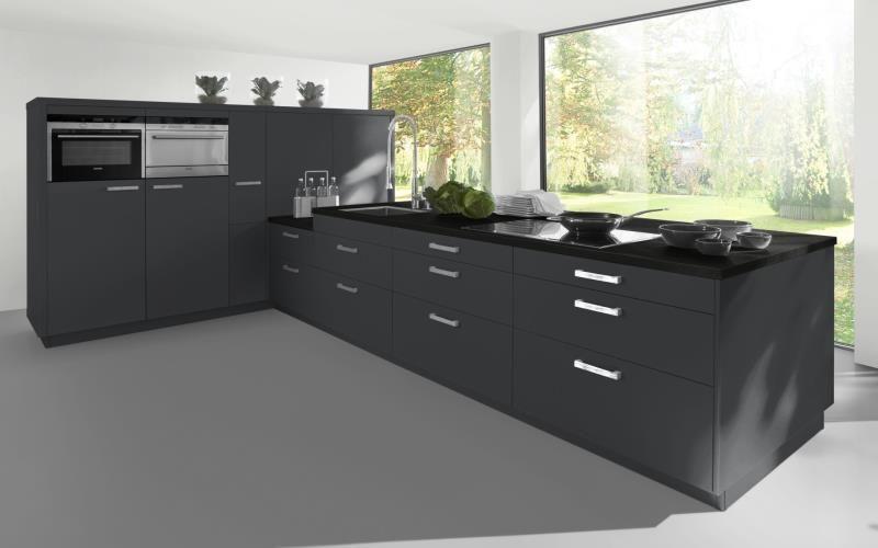 Sorrento Gloss Dark Grey Kitchen Jpg Kitchen