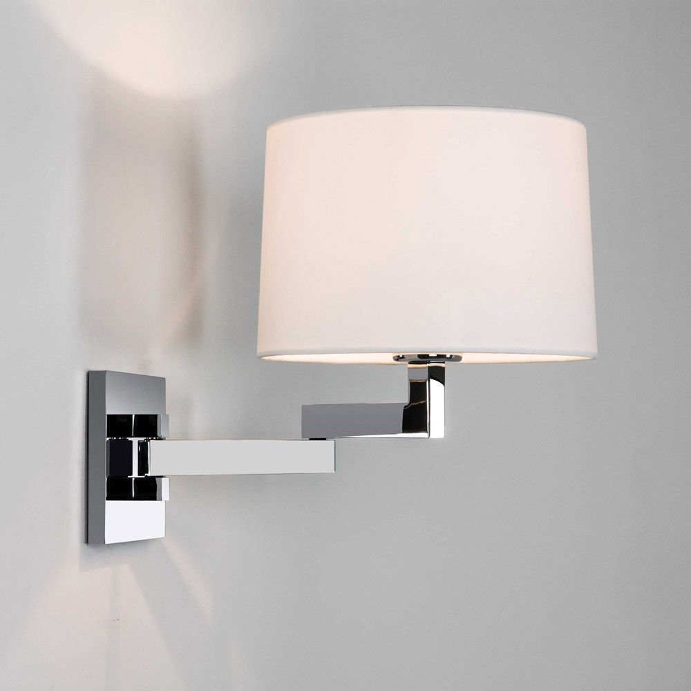 The Momo Adjustable Swing Arm Wall Sconce Has A Sleek Dynamic