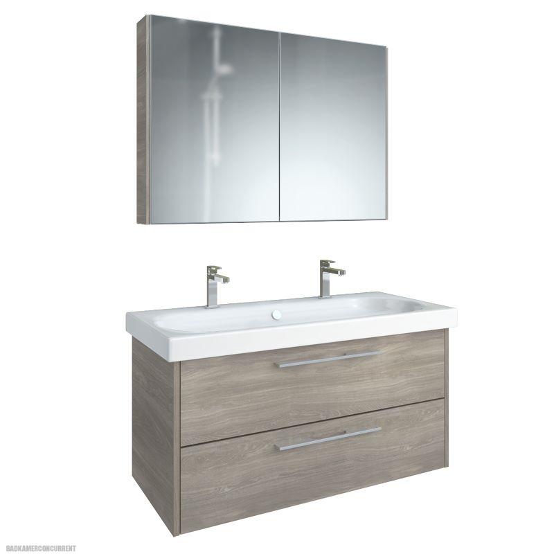 Leava Zoppola badkamermeubel met spiegelkast LEA70A020117 ...