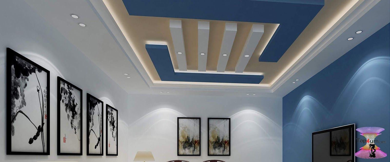 افضل ديكورات جبس اسقف راقيه 2019 Modern Gypsum Board For Walls And Ceilings Gypsum Board Decor Interior Design Interior Design