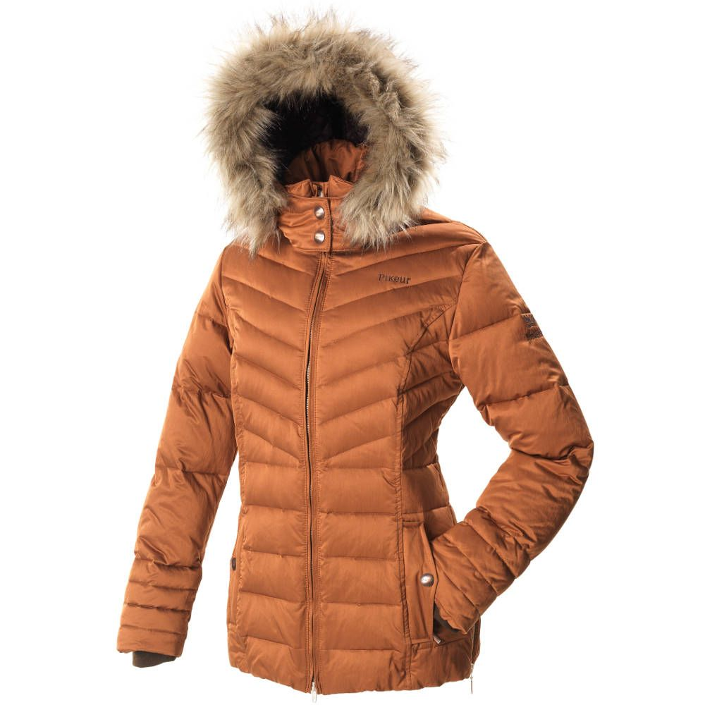 Pikeur Lavina Ladies Quilted Jacket Premium Collection- Tan ... : ladies quilted riding jacket - Adamdwight.com