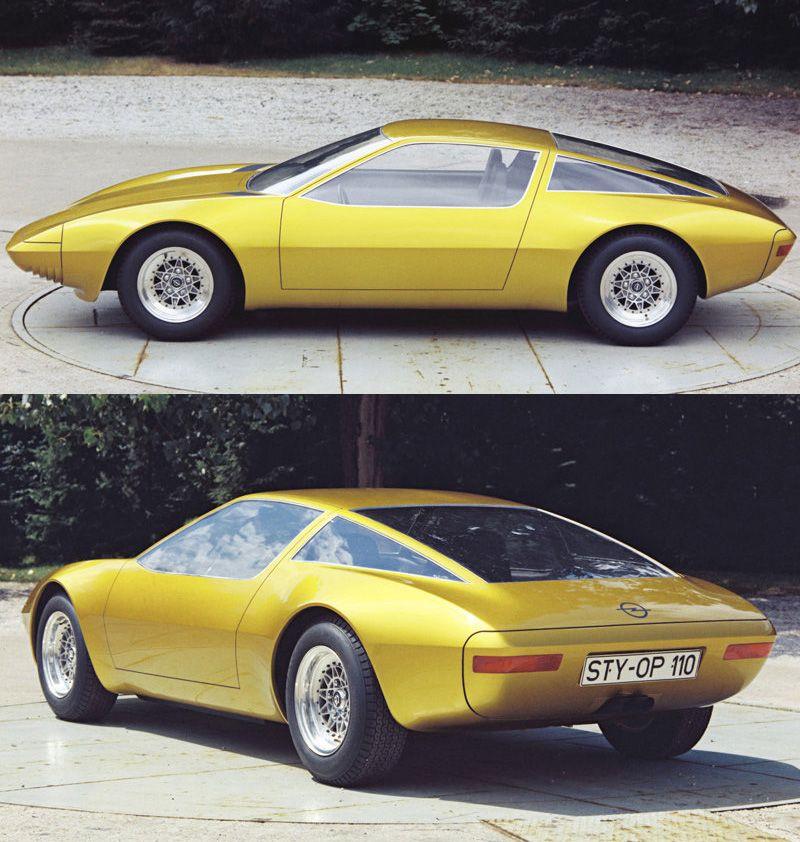 1975 Opel GTW Geneve Prototype