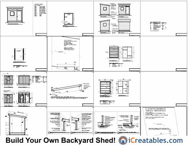 office shed plans. 8x10 Office Shed Plans, Studio Plans