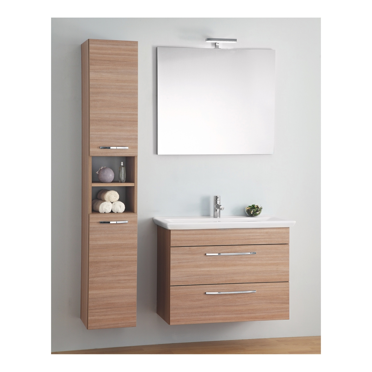 Leroy merlin mobile bagno gi 115 mobili bagno bathrooms pinterest wood bathroom and - Specchiera bagno leroy merlin ...