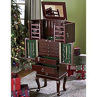 Camille Jewelry Armoire