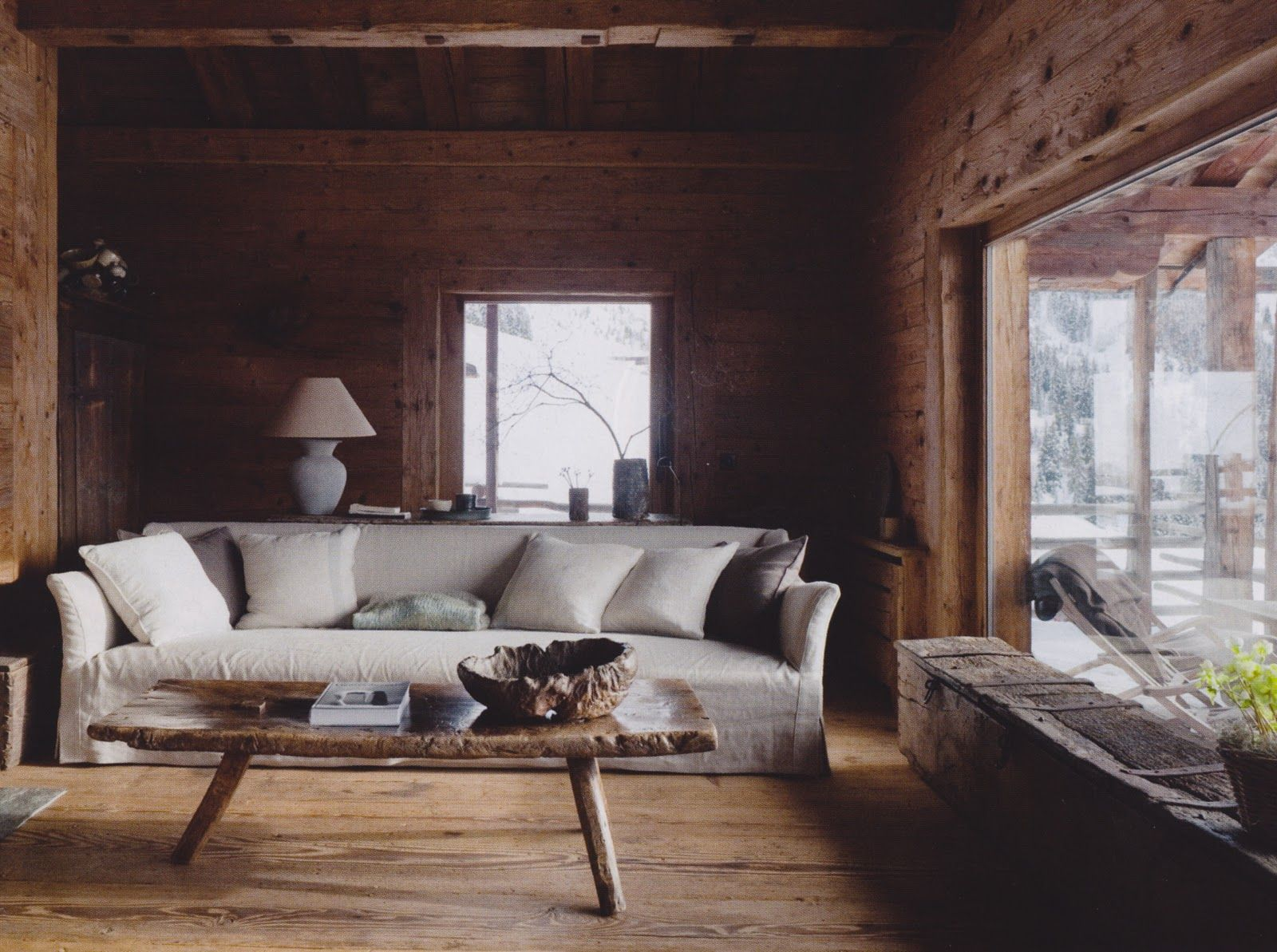 Axel Vervoordt S Farmhouse In Verbier Switzerland Home Living