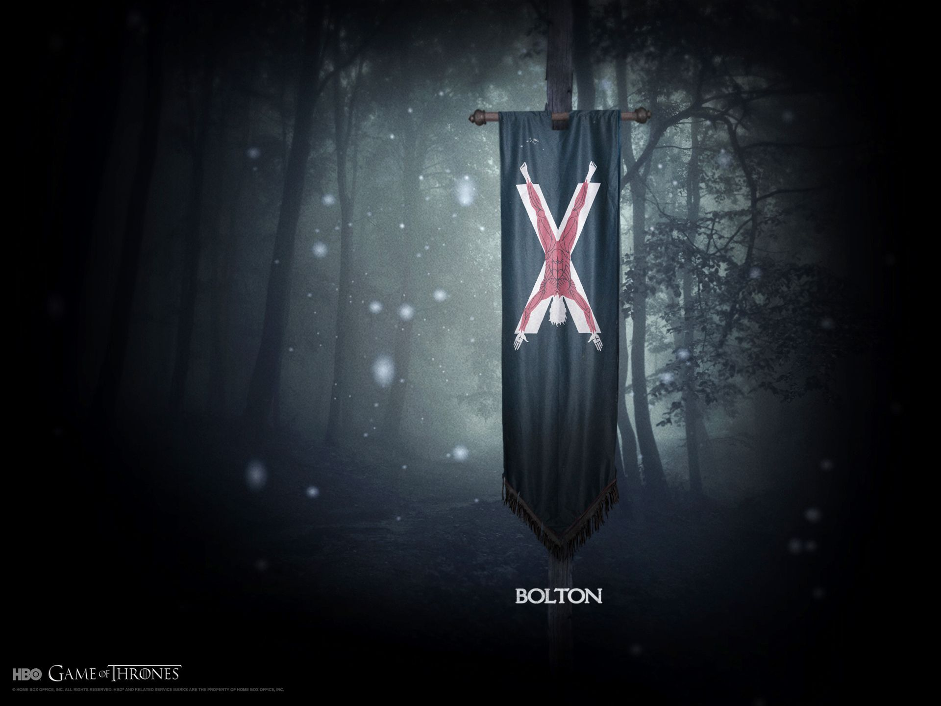 Game Of Thrones Wallpaper House Bolton Arryn Game Of Thrones Art Bolton Game Of Thrones