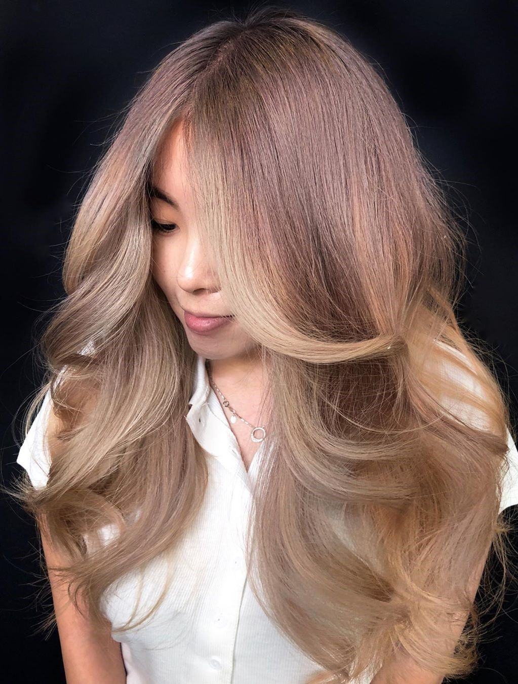 Champagne Blonde Hair Color in 2020 2021 in 2020