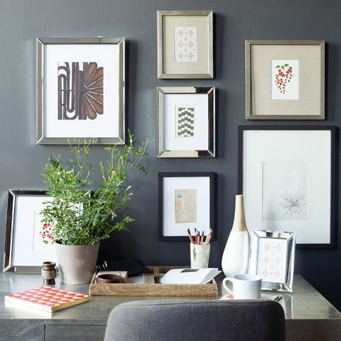 Gallery Frames - Antique Silver in 2018 Favorite Gallery Wall Pins