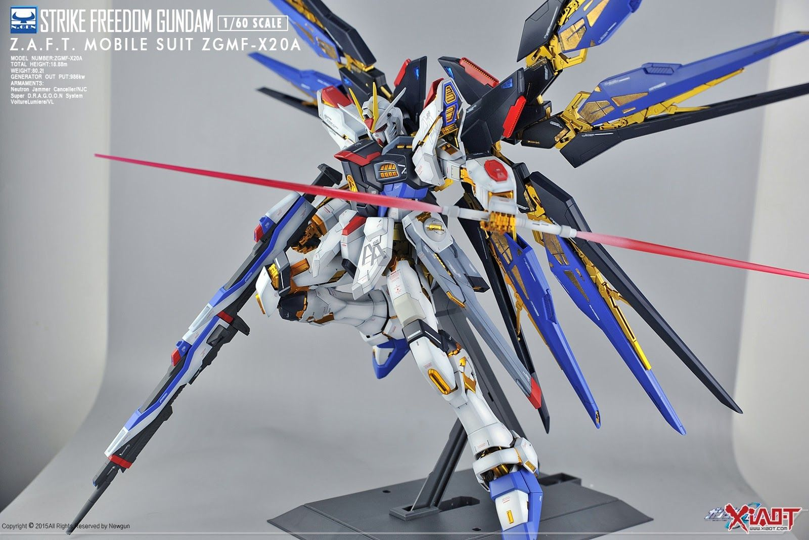 Pg 1 60 Strike Freedom Gundam Customized Build Modeled By Su30mkk Gundam Gundam Model Gundam Seed
