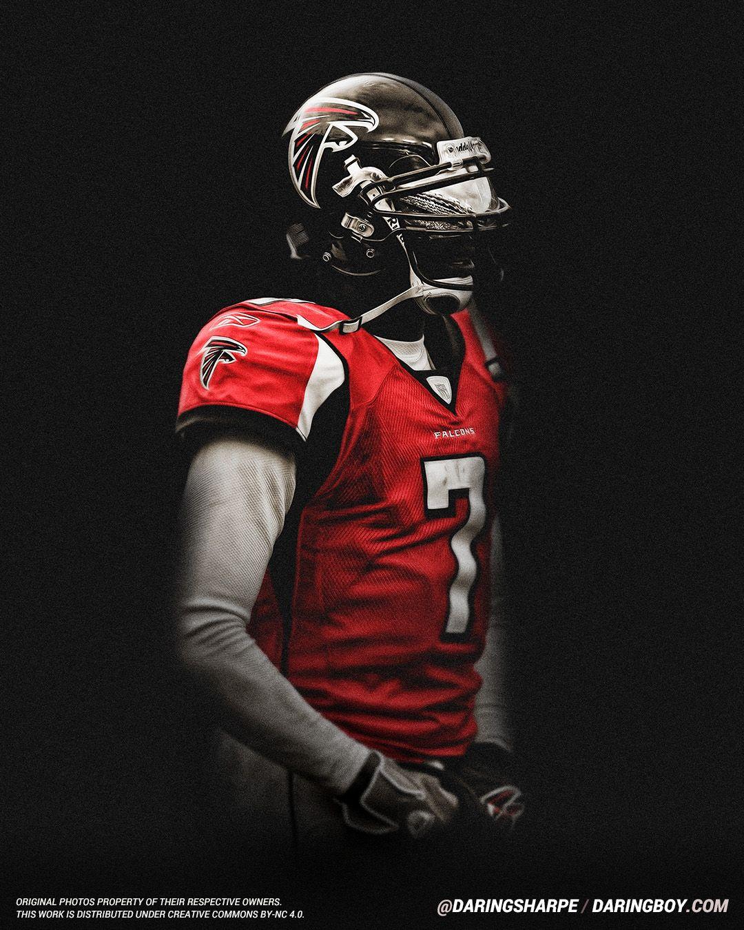 Michael Vick Atlanta Falcons Michael Vick Atlanta Falcons Atlanta Falcons Football