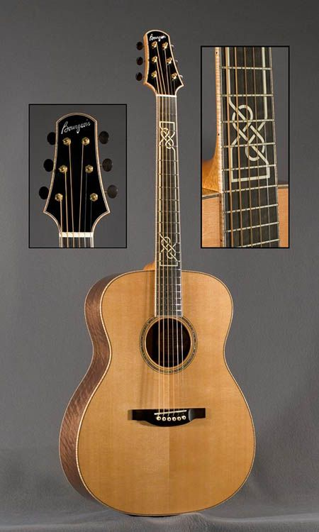 Bourgeois guitar- Celtic style.