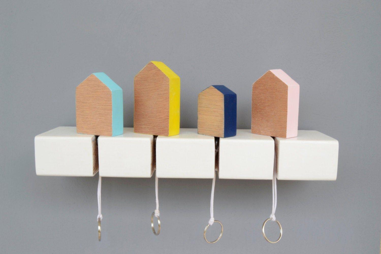 Photo of Portachiavi, portachiavi in legno, portachiavi portachiavi, portachiavi, portachiavi in legno, forma della casa, portachiavi per la casa