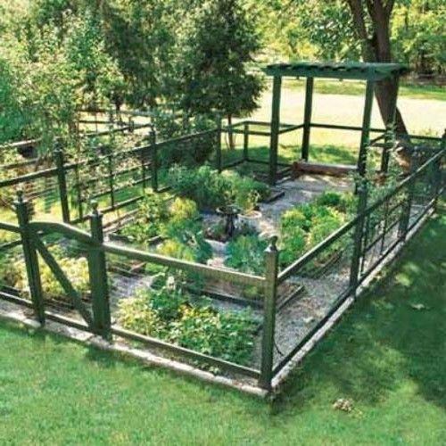 Vegetable Garden Fence Ideas Cynthia Pinterest Vegetable