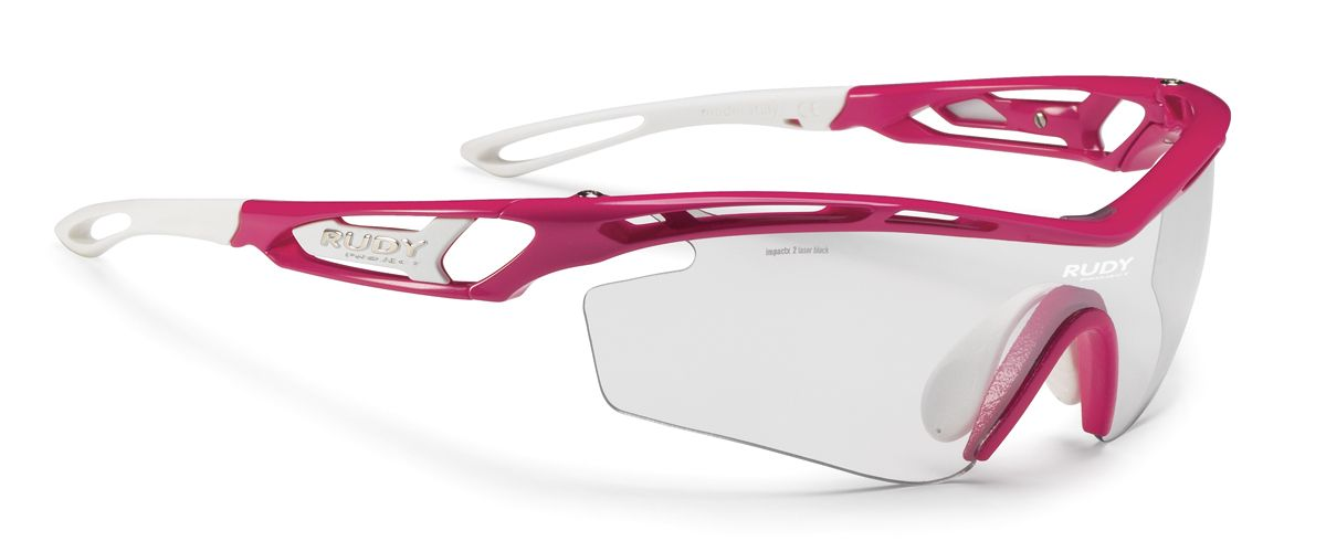 0f675600e3 Rudy Project Sunglasses - TRALYX SX RUBIN GLOSS WITH IMPACTX-2 PHOTOCHROMIC  CLEAR TO LASER BLACK LENSES