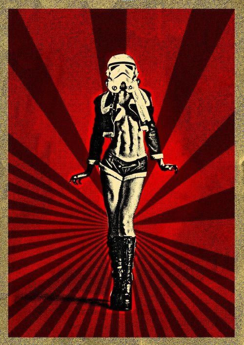 Slinky Sexy Storm Trooper.