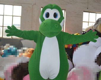 Adult Yoshi Lizard Costume
