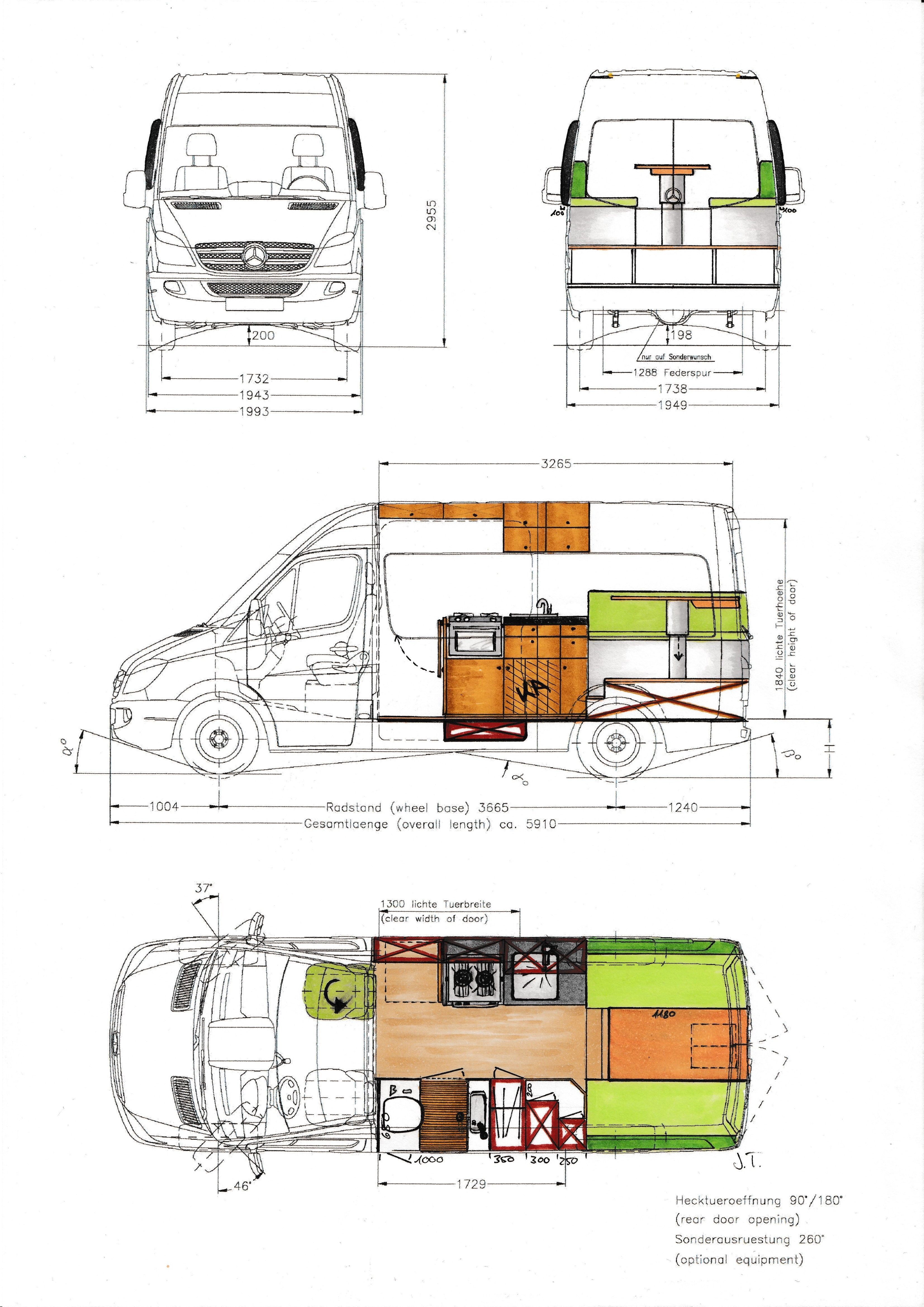 Conversion Plan And Starting Condition Of Our Sprinter Overlandys Lifequotes Simpl In 2020 Van Conversion Floor Plans Van Conversion Plans Camper Van Conversion Diy