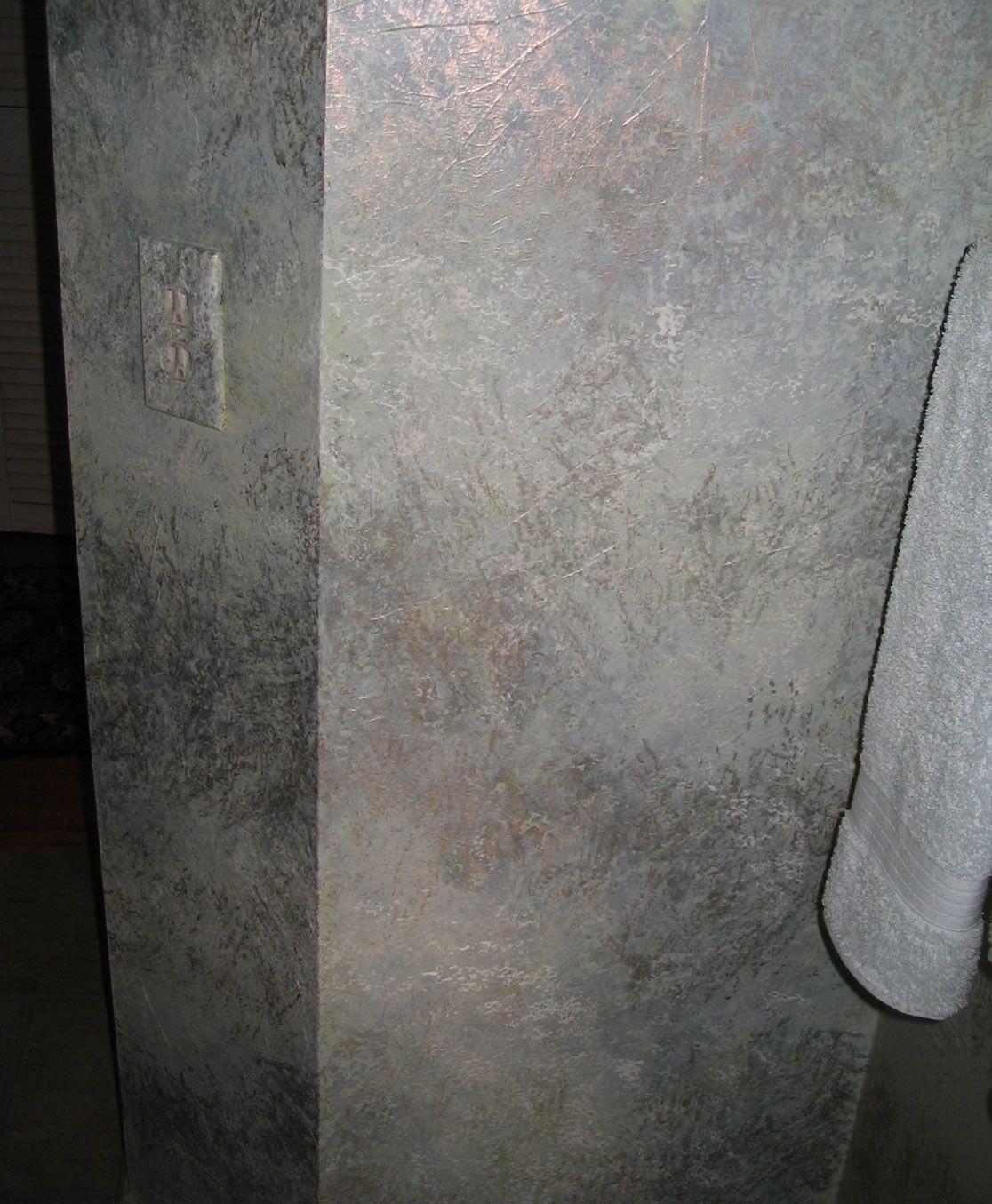 Faux Walls Painting Techniques Pinterest