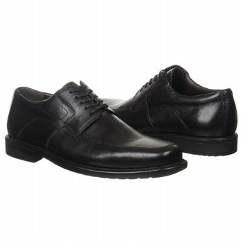 Johnston and Murphy Cullis Moc Lace-Up Shoes (Black) - Men's Shoes - 9.0 M
