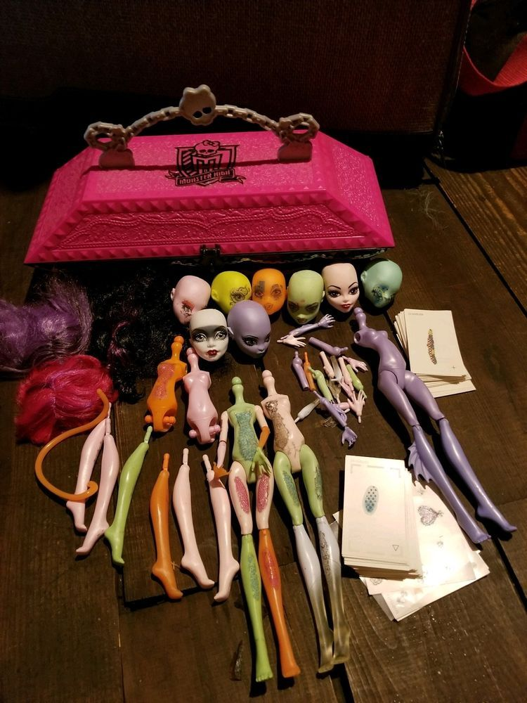 Monster High Cam Dolls Replacement Parts Create A Monster Design