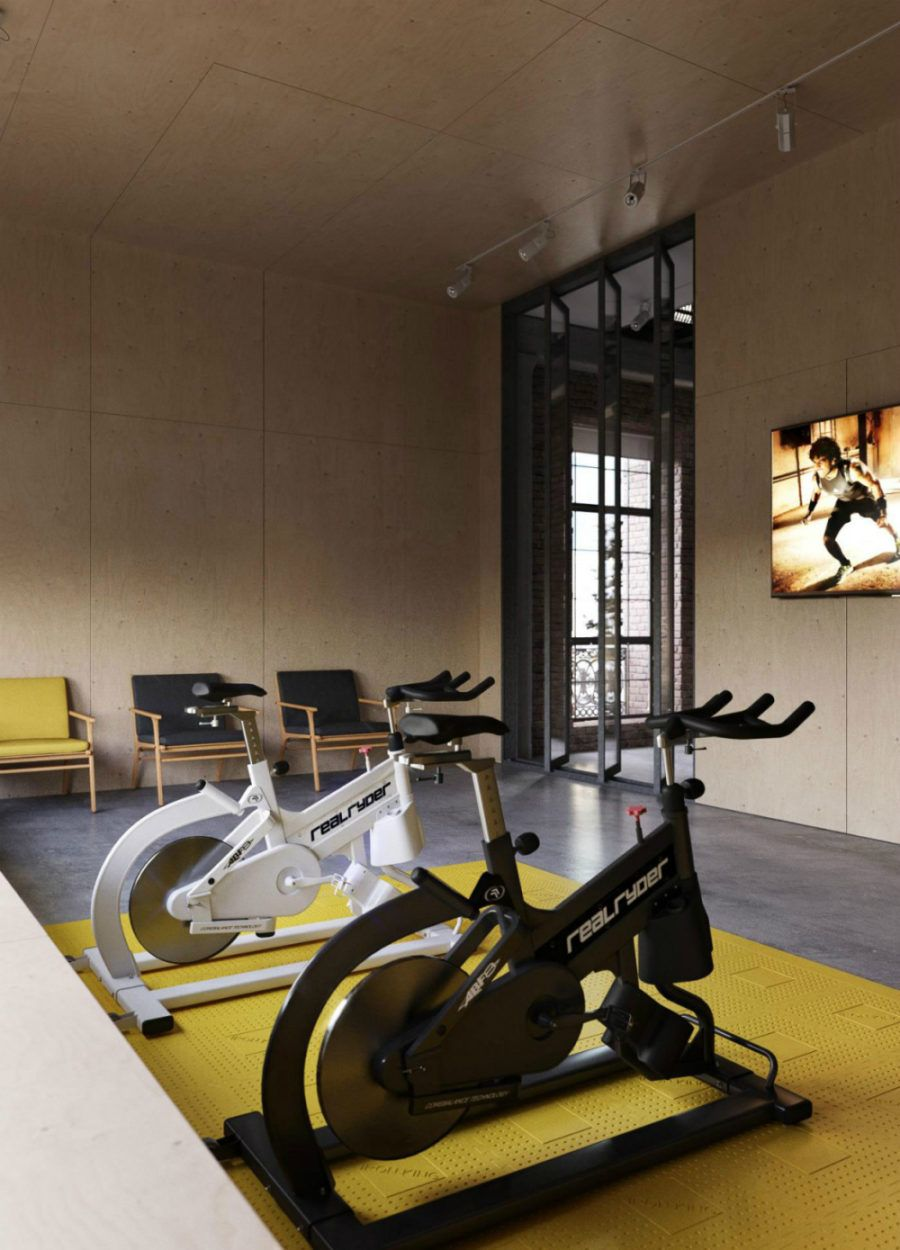image result for home gym design inspiration spin studio rh pinterest com