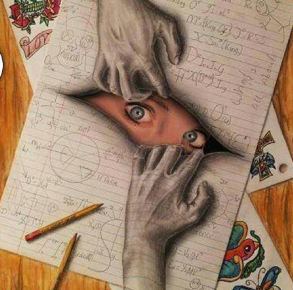 Interesting Creative Designs Creative 3d Art Drawings