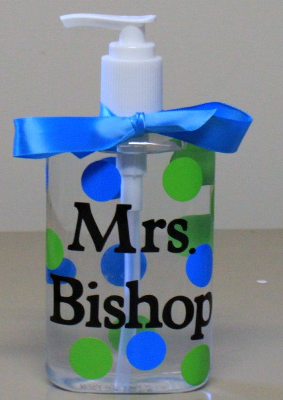 Hand Sanitizers I Made For Teachers Teacher Gifts School Gifts