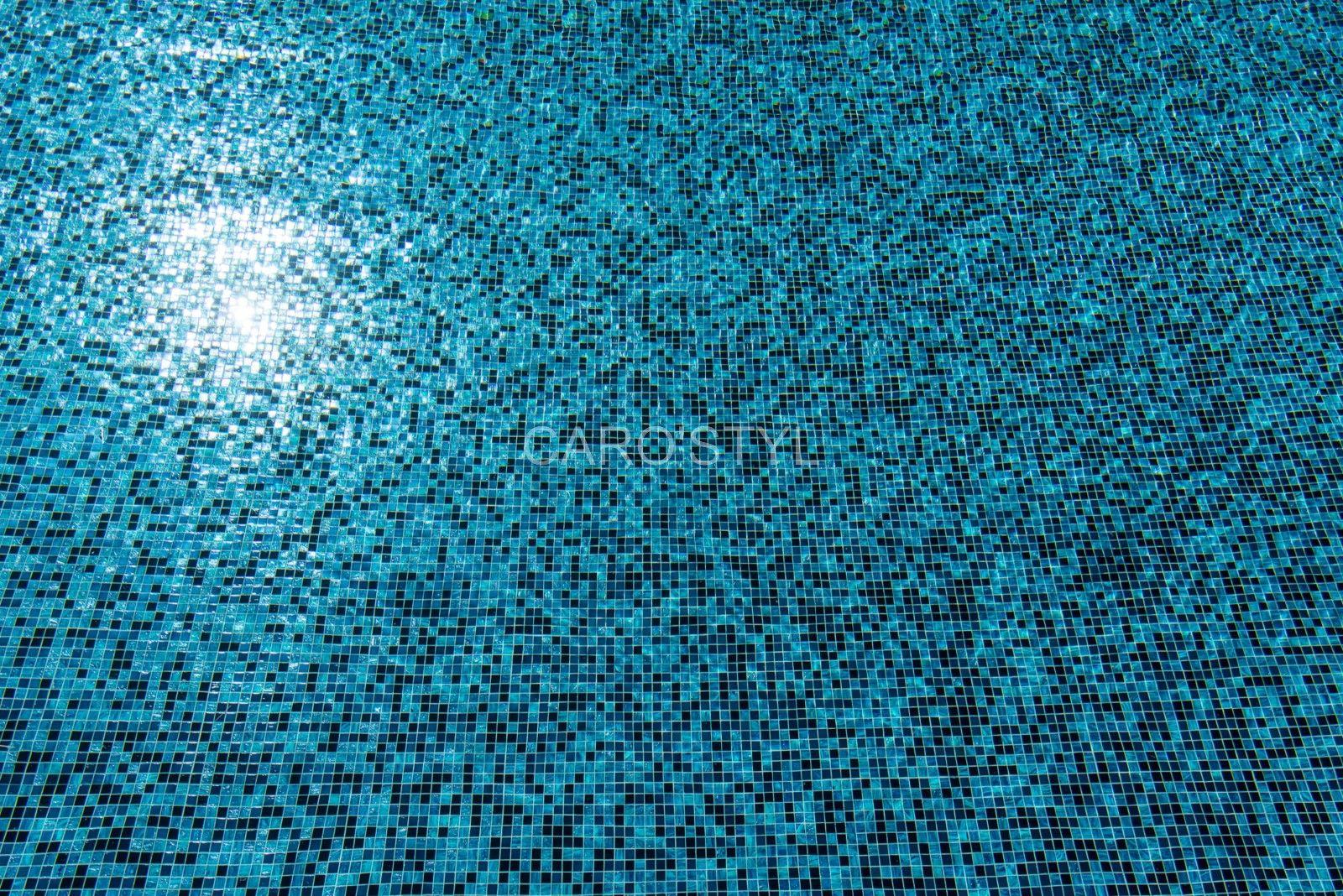 Mosaique Bleue Pour Piscine Cette Mosaique Est En Pate De Verre Et En Plaque De 30x30 Osez Jouer Les Couleurs Et Les Effets Avec La Mo Piscine Verre Mosaique