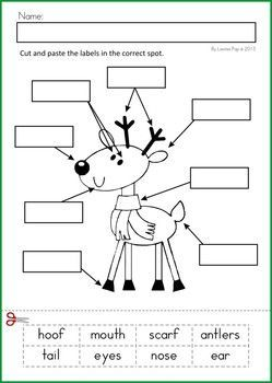 christmas literacy worksheets free