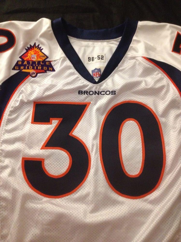 sale retailer 533b9 2a7b6 Terrell Davis 1998 Nike Pro Line Game Jersey Denver #Denver ...