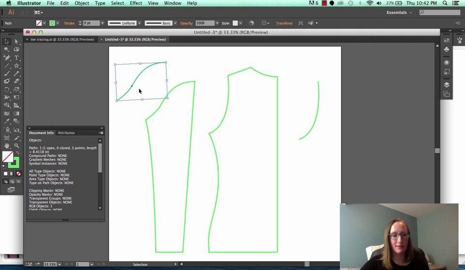 How to Measure Curved Paths in Illustrator BASTE